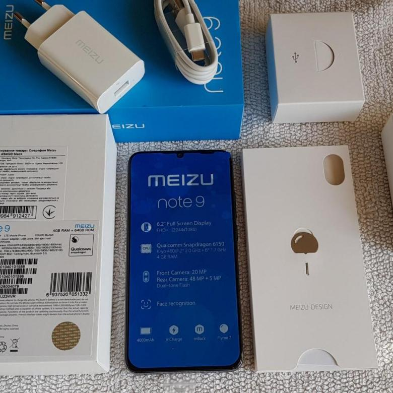 Meizu Note 9 медленно заряжается - Решение