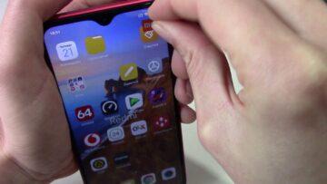 Xiaomi redmi 8A глючит сенсор зависает - Решение