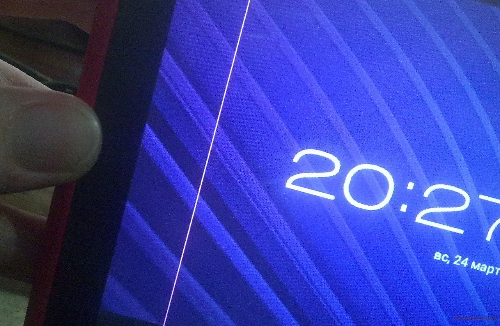 Полосы на экране Meizu M8 - Как восстановить экран