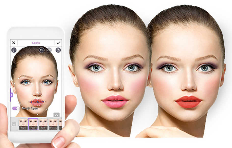 YouCam Makeup (Android, iOS)